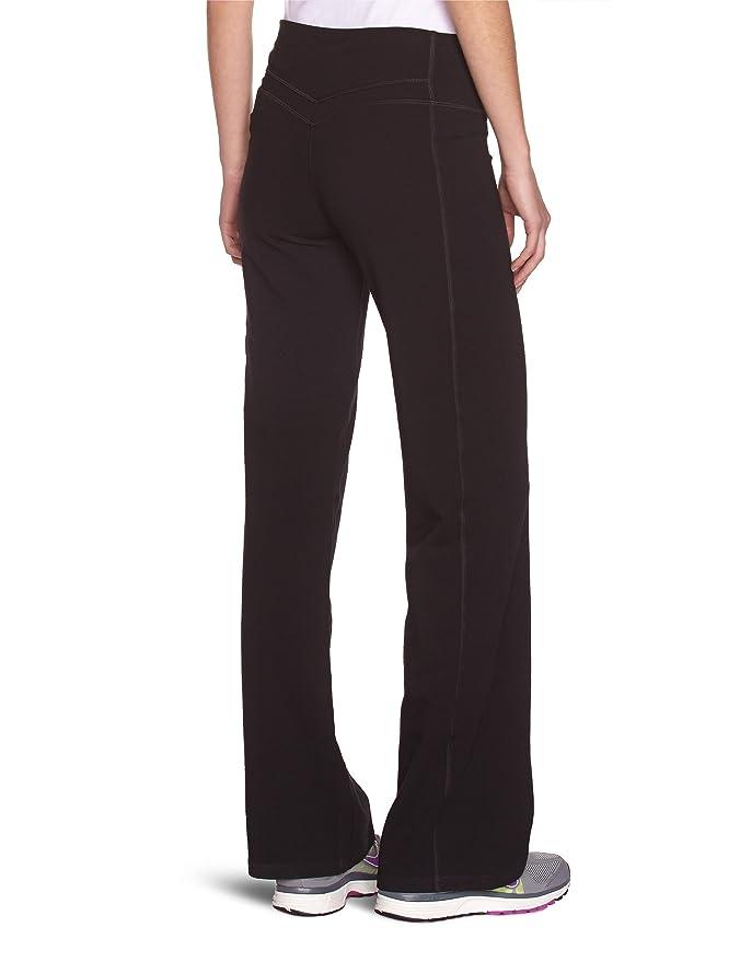 Nike Womens Regular Fit Dri-Fit Yoga Pants Black