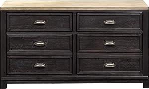 Liberty Furniture Industries Heatherbrook Credenza, Brown