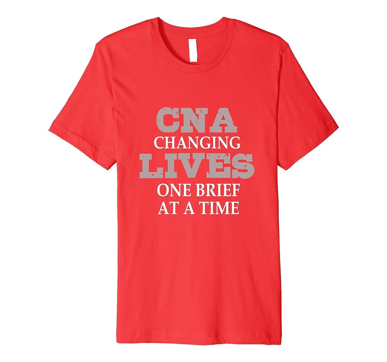 CNA Changing Lives Nursing T-shirt-TD