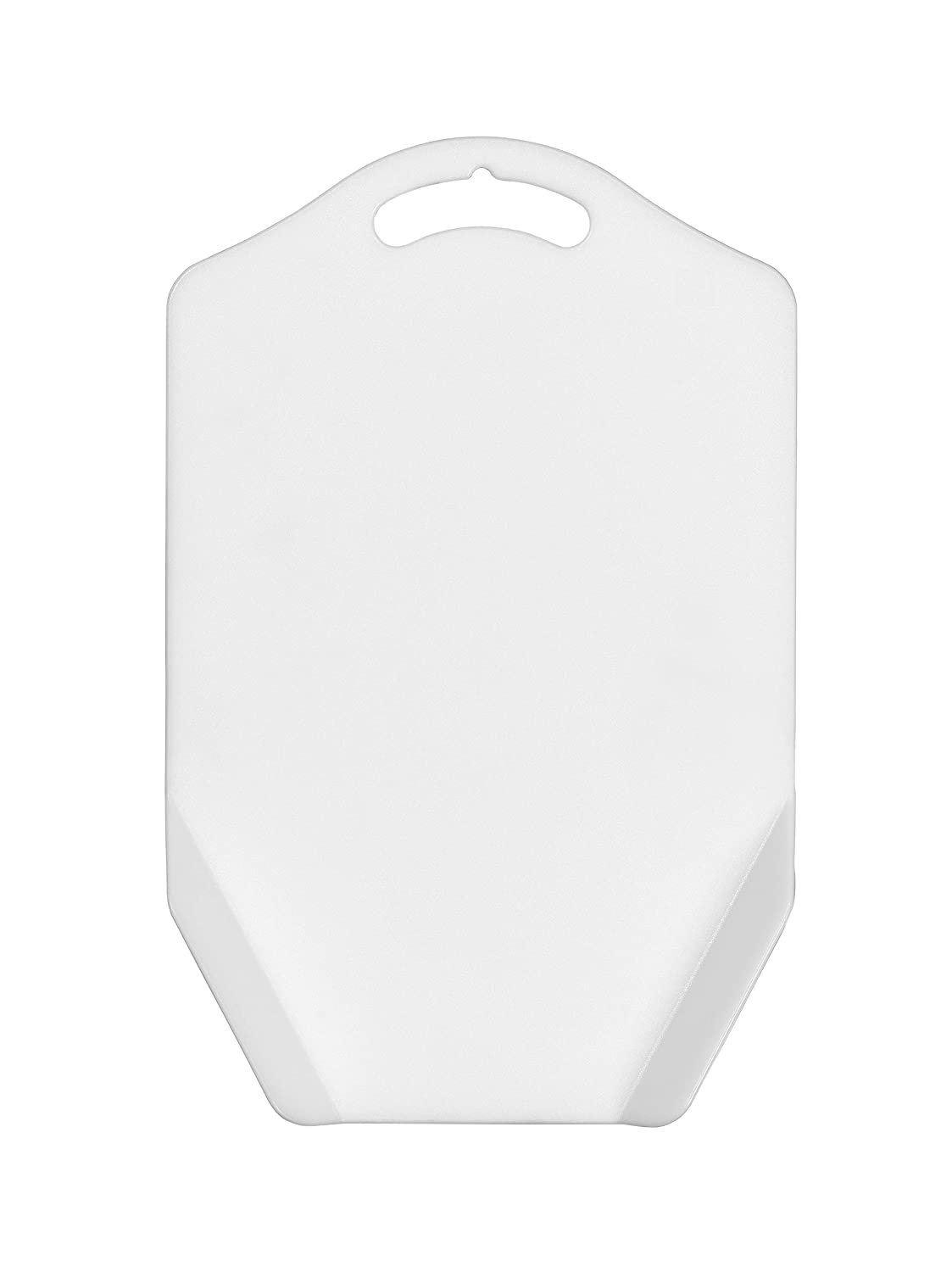 Chef Aid Funnel Chopping Board in White George East Housewares 10E21061