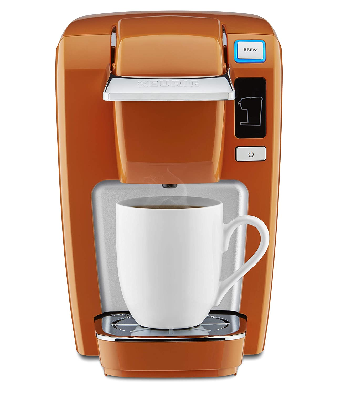 Keurig Mini K15 Single-Serve K-Cup Pod Coffee Maker Burnt Orange