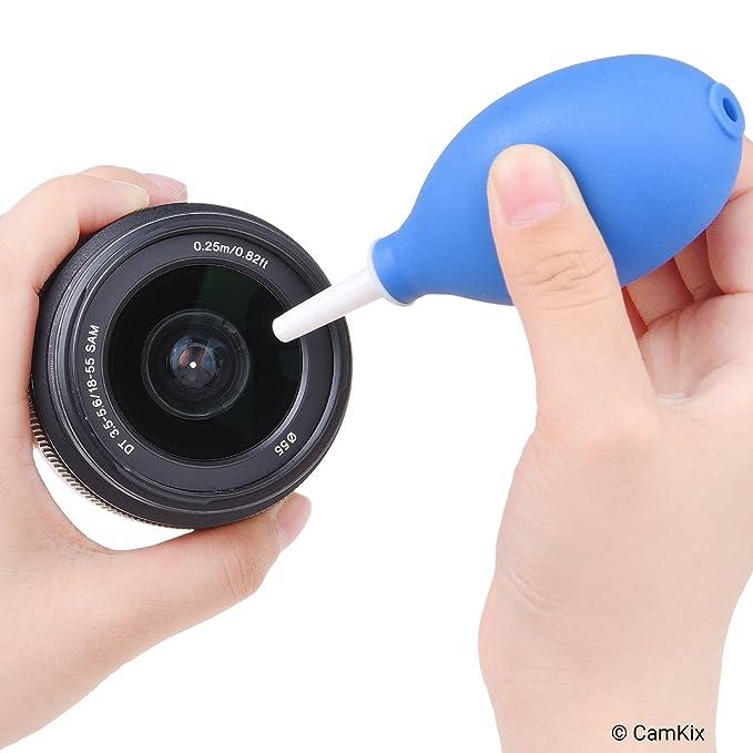 Juego de 2 sopladores de aire con boquillas cortas, medianas y largas: Amazon.es: Electrónica