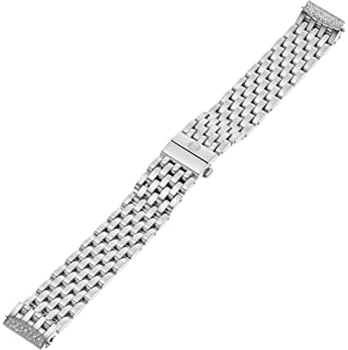 MICHELE MS16DL235009 Urban Mini Diamond 16mm Stainless Steel Silver Watch Bracelet
