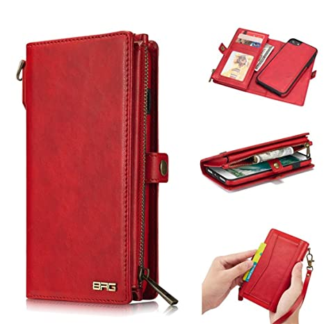 fca18aa86f iphone7 ケース iphone8 ケース 手帳型 財布型 クラッチバッグ 【Boomshine】高品質 PU