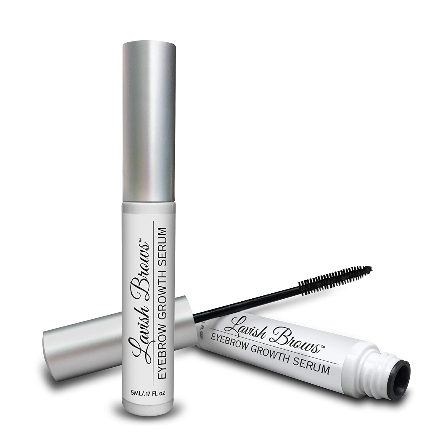 Pronexa Hairgenics Lavish Brows – Eyebrow Growth Enhancer Serum with Biotin, Castor Oil & Natural Growth Peptides for Long, Thick Looking Eyebrows! Dermatologist Certified & Hypoallergenic.