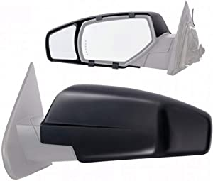 Fit System 80910 Chevrolet/GMC Full Size Truck Clip-On Towing Mirror - Pair