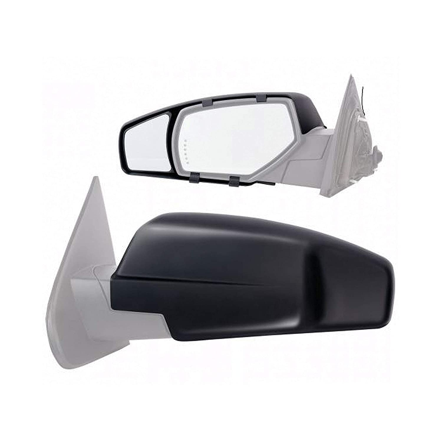 Fit System K-Source 80910 Towing Mirror Chevy//Gmc Pair