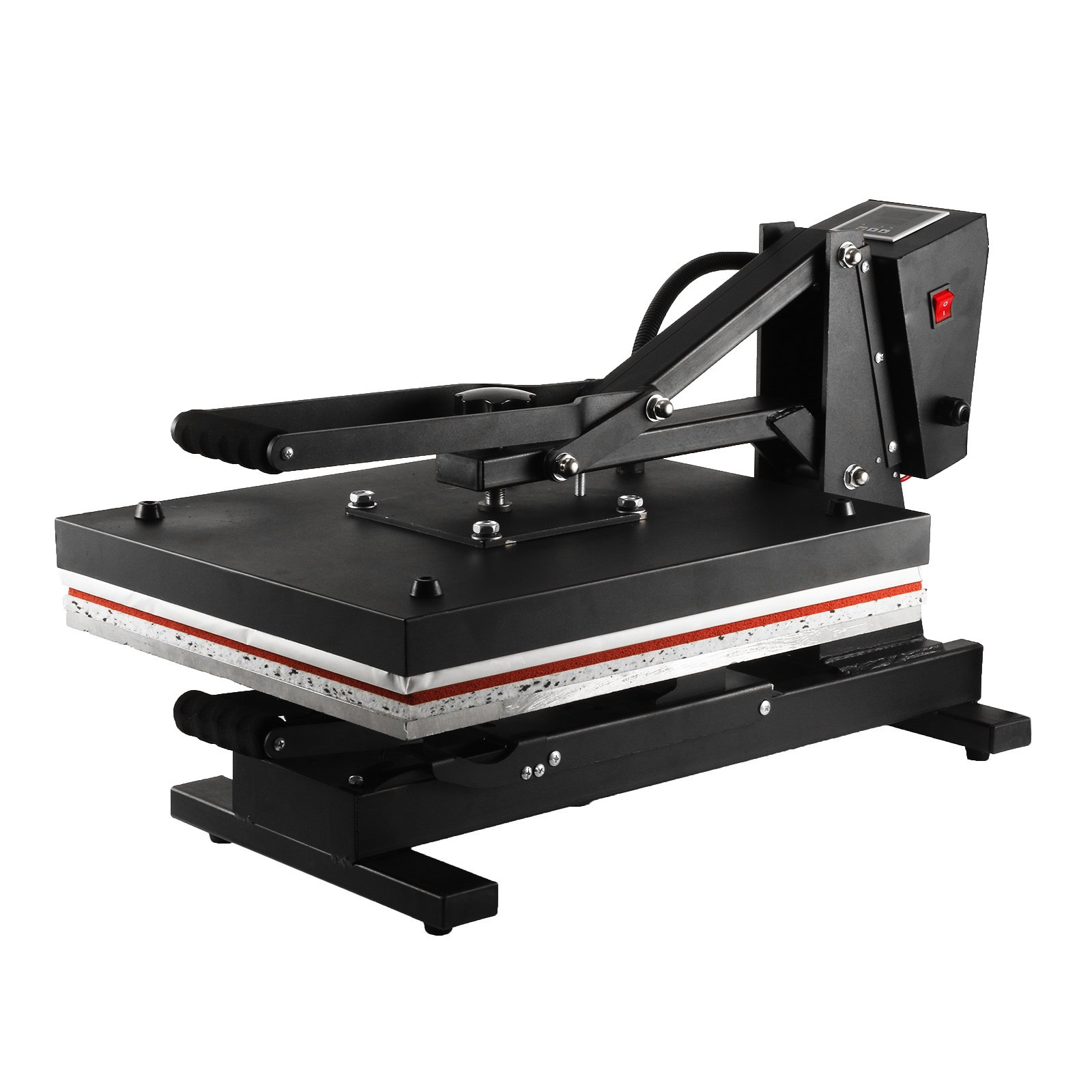 V-MACH Heat Press 16x20Inch Pull Out Style Heat Press Machine 1300W Heat Press Machine for T Shirts High Pressure Heavy Duty Commercial-grade (16x20Inch Pull Out Style) by V-MACH