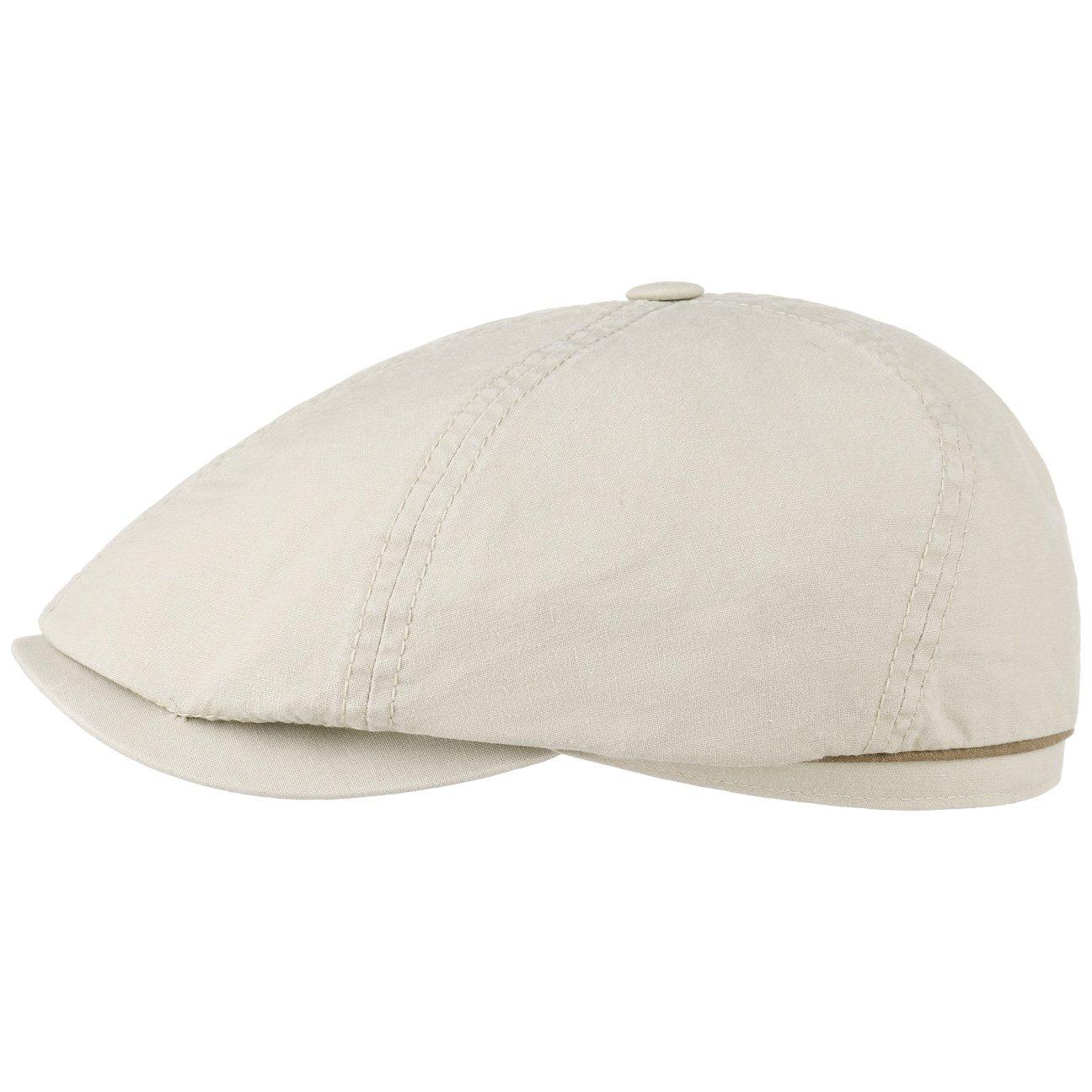 Stetson Coppola Delave Organic Cotton Uomo Berretto Estivo Cappello Piatto con Visiera Autunno//Inverno Primavera//Estate