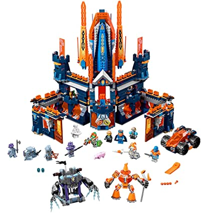 Amazoncom Lego Nexo Knights Knighton Castle 70357 Building Kit