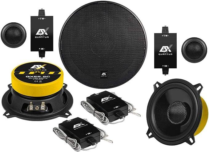 Esx Qxe5 2c 13 Cm Komponenten Lautsprecher Mit 180 Watt Rms 80 Watt Navigation