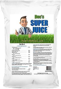 Super Juice 13.6 lbs Supplement Fertilizer For Lawn