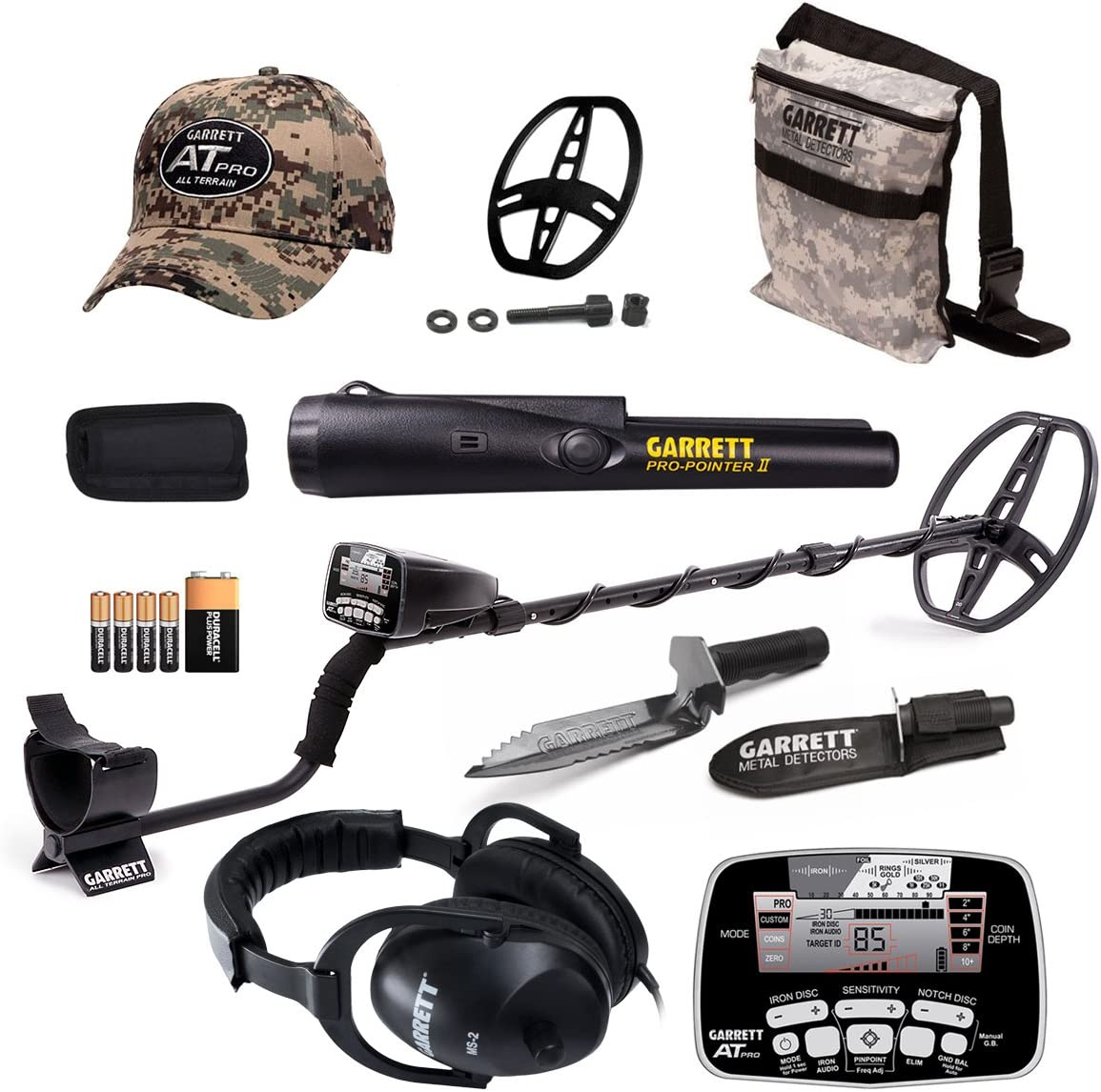 Garrett at Pro Waterproof Metal Detector with ProPointer II and Bonus Pack