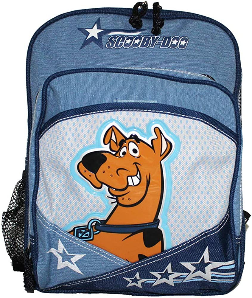 """NEW Scooby Doo Movie 15/"""" Plain Front Backpack"""