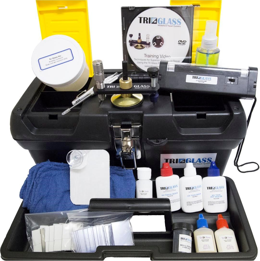 TRI 10 Tri Glass Basic Windshield Repair Kit