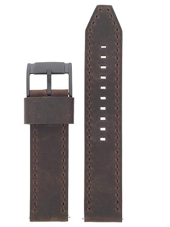 Lb De 22 Marron Montre Cuir Fossil En Rechange Fs5251set Bracelet L45jAR