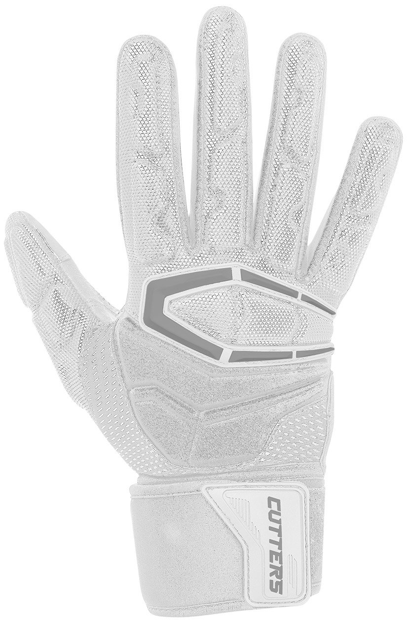 Cutters Gloves S932 Force 3.0 Lineman Gloves, White, Large by Cutters (Image #1)