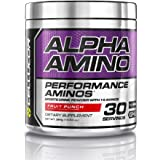 Cellucor Alpha Amino Acids Supplements with BCAA Powder, Fruit Punch, 13.4 Ounce (30 Servings)