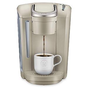 Keurig K-Select Single-Serve K-Cup Pod Coffee Maker, Sandstone
