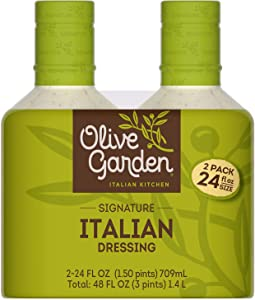 2/24oz Pack Olive Garden Signature Italian Dressing (Original Version) (Original Version)