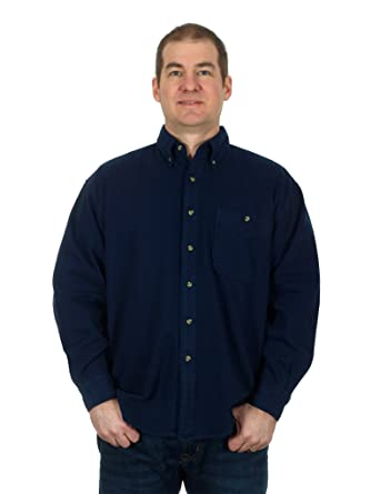 Men's Comfy Button Down Corduroy Long Sleeve Shirt For Work or ...