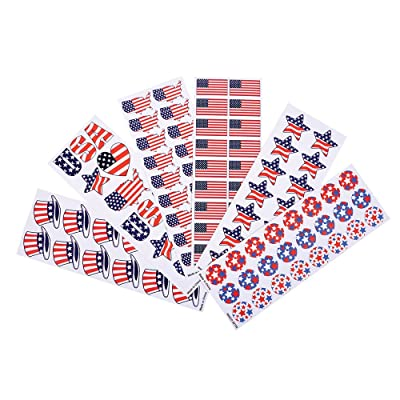 Patriotic Sticker Assortment (almost 1,000 stickers): Toys & Games