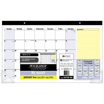 school calendar template 2018 17