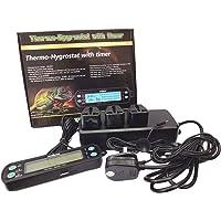 Reptile Vivarium Professional Digital Day / Night Thermostat + Humidistat with Timer