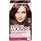 3 Pk, L'Oreal Paris Sublime Mousse By Healthy Look, Spicy Auburn Brown #56