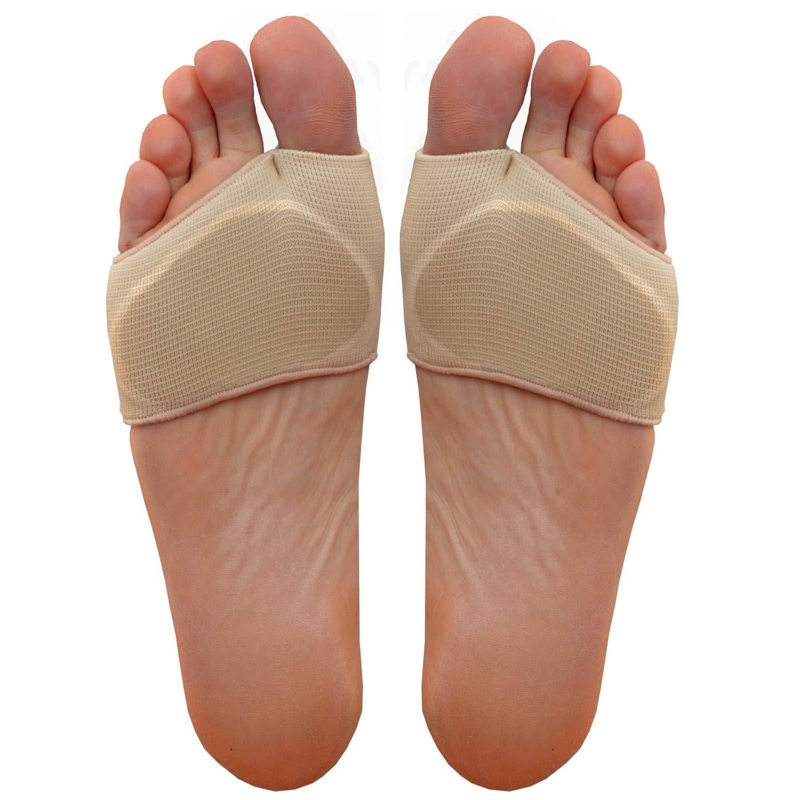 Medipaq® Metatarsal Gel Cushion - Relieve Ball of Foot Pain Now!