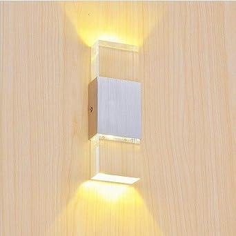 Lightess 6w Led Wandlampe Wandleuchten Innen Modern Up Down