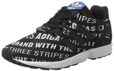 sneakers for cheap d4a26 016a6 Adidas Zx Flux, Unisex Kids  A Neck Low, Black (Core Black