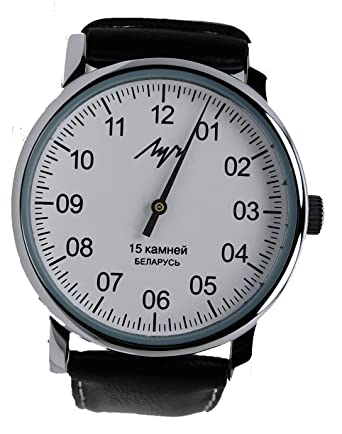 Diseño único de auténtico ruso del viento del reloj resistente al agua hasta la cocina cierra con una sola mano: Amazon.es: Relojes