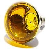 Ampoule à incandescence E27 60 W jaune forme de champignon 1 pc(s)