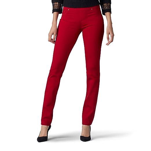 LEE Women's Sculpting Slim Fit Slim Leg Pull On Jean