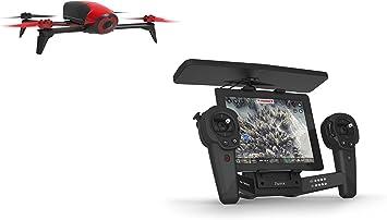 Parrot - Pack con Bebop 2 color rojo y SkyController color negro (PF726100AA): Parrot: Amazon.es: Juguetes y juegos