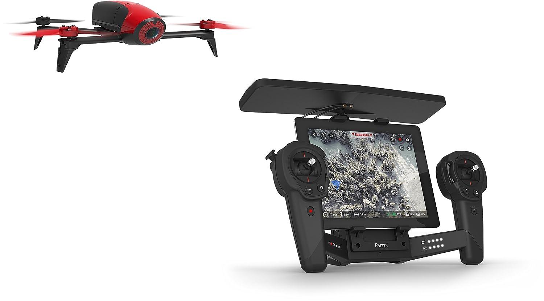 Parrot - Pack con Bebop 2 color rojo y SkyController color negro ...
