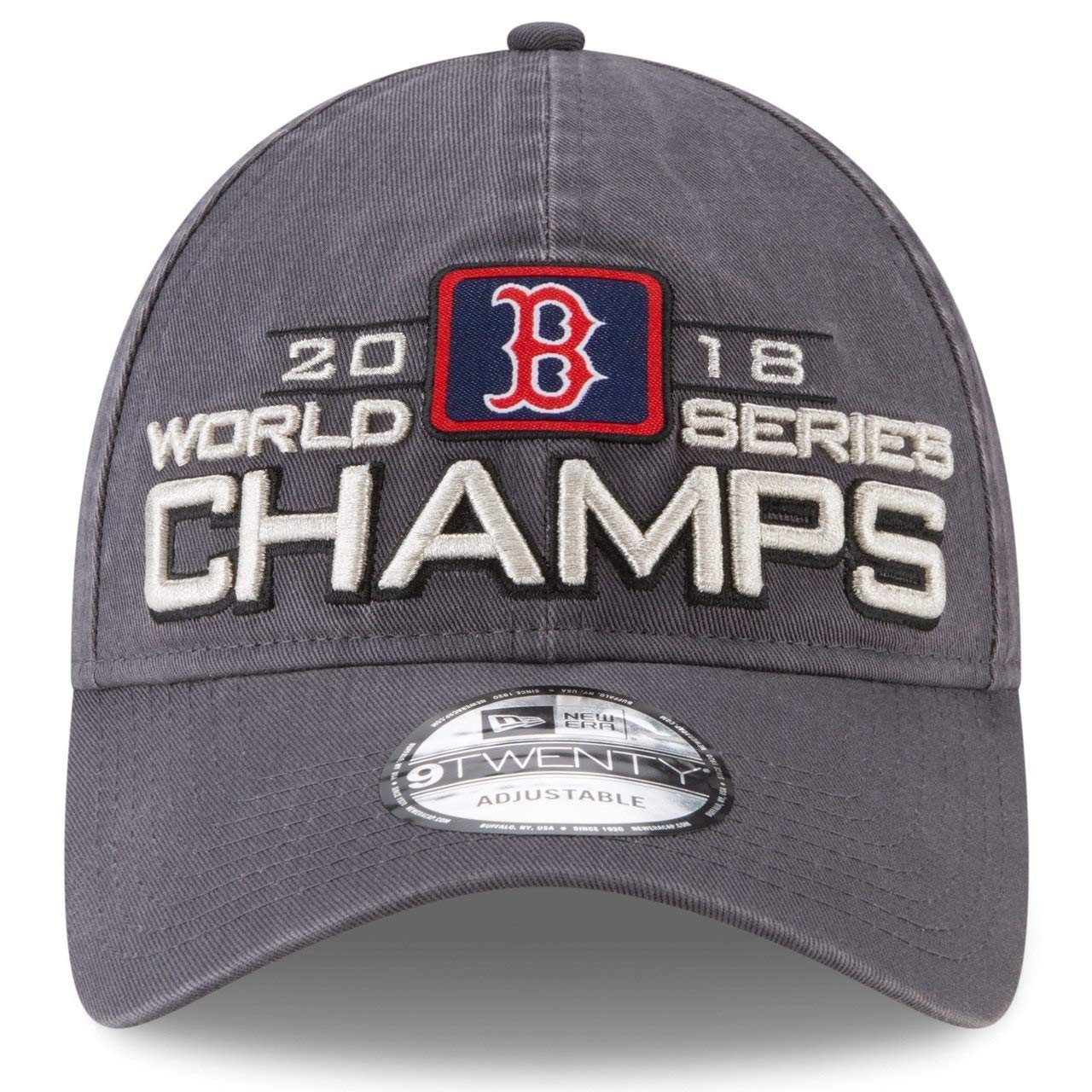 d0043ea5c9f Amazon.com   New Era Boston Red Sox 2018 World Series Champions 920 Adjustable  Hat   Sports   Outdoors