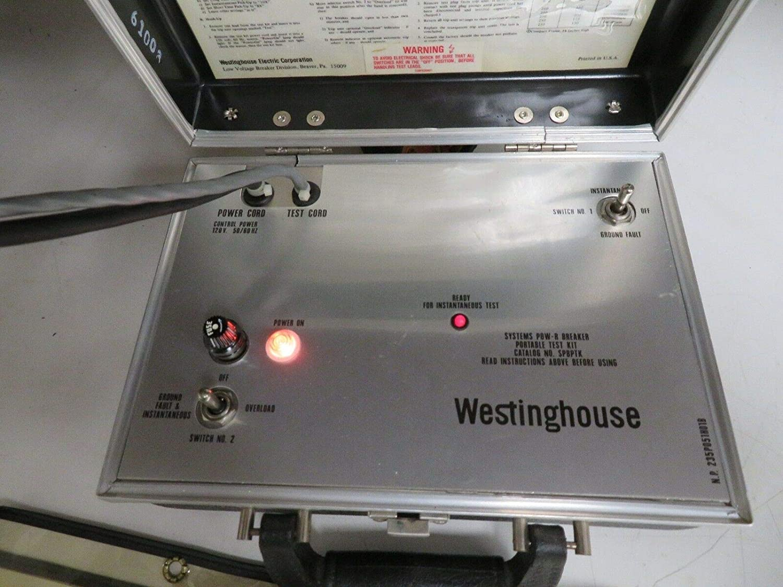 Amazon.com: Westinghouse (Cutler Hammer) SPBPTK Secondary Injection Test Set - NB59: Electronics
