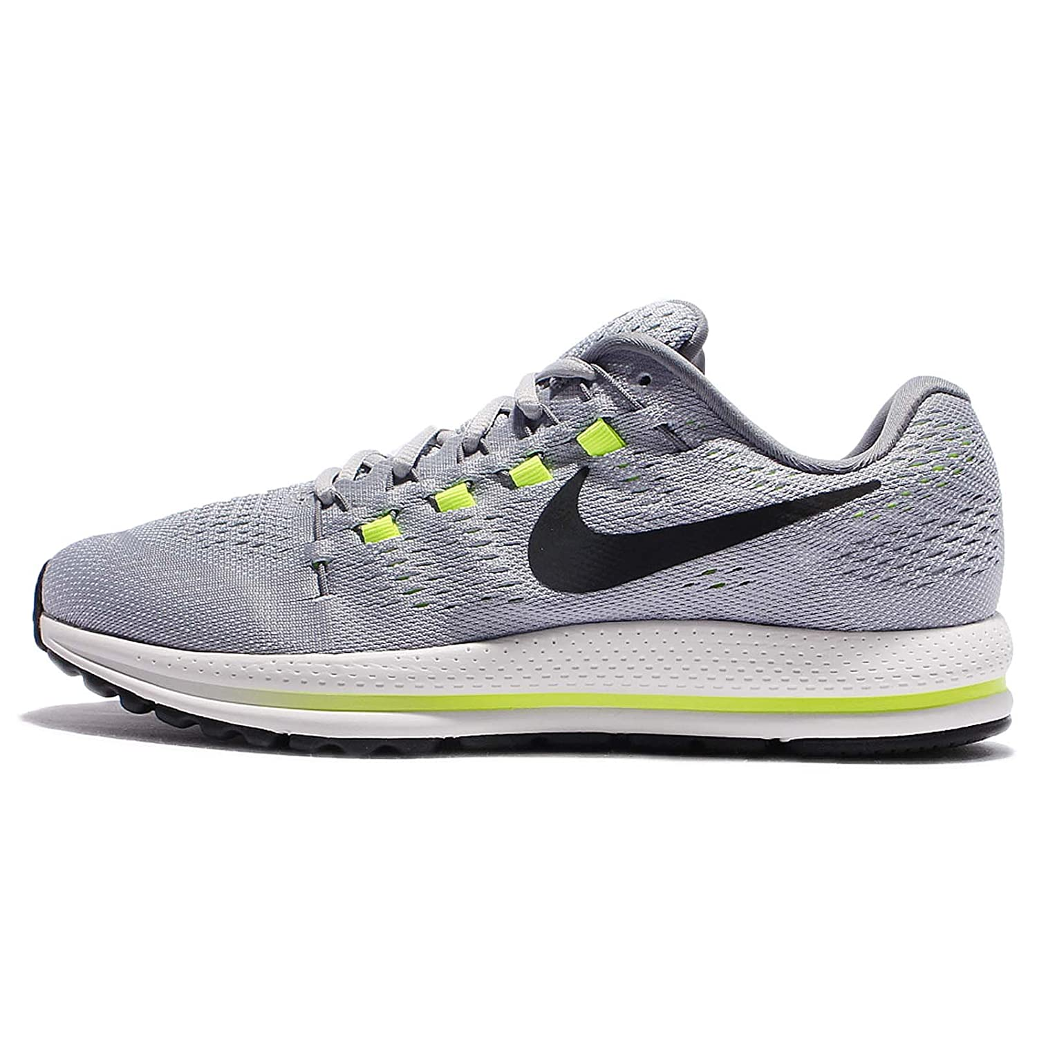 0b4ceb5227a577 Nike Men s Air Zoom Vomero 12 Running Shoe Wolf Grey Black-Cool Grey-Pure  Platinum 14. 0  Buy Online at Low Prices in India - Amazon.in