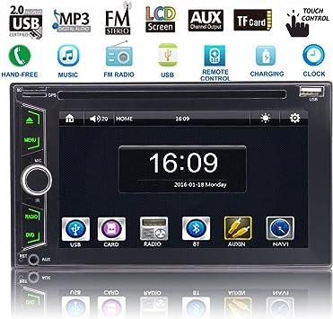EinCar Autoradio - Reproductor multimedia para coche con Bluetooth ...