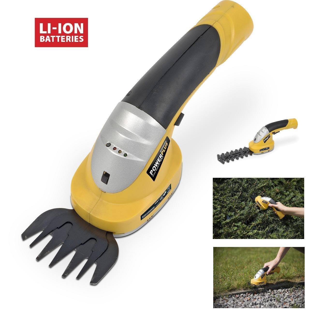 Hand Lawn And Hedge Shears 7.2V Powerplus 5400338031236 10307