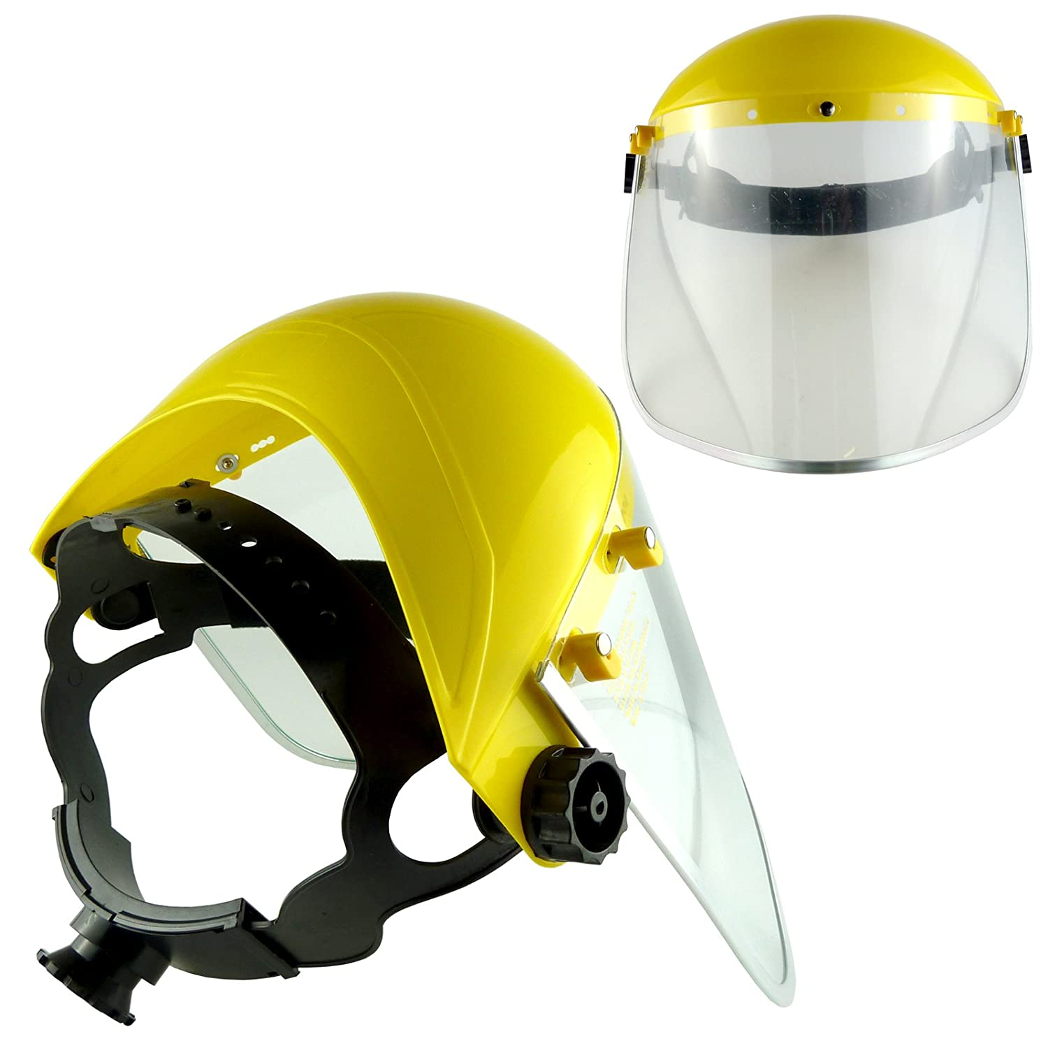 Face Shield - Brow Guard With Polycarbonate Visor (Pack of 1) Bid Buy Direct