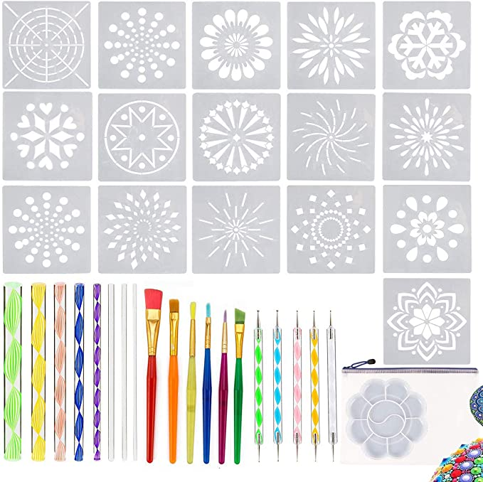 Mandala Dotting Tool For Painting Rocks Dotting Mandala Template 2020 C7U5
