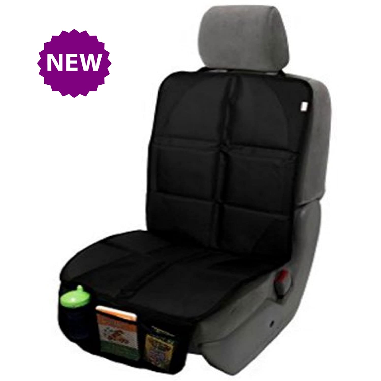 Ridez 5th Dimension Car Seat Protector Keeps Upholstery Leather From Getting Ripped by Booster Seats Baby Infant Carriers (blue) SunCorp