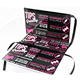 3 Lyft Tip and Rating Signs for Rideshare Drivers | 10 ml laminate | Durable