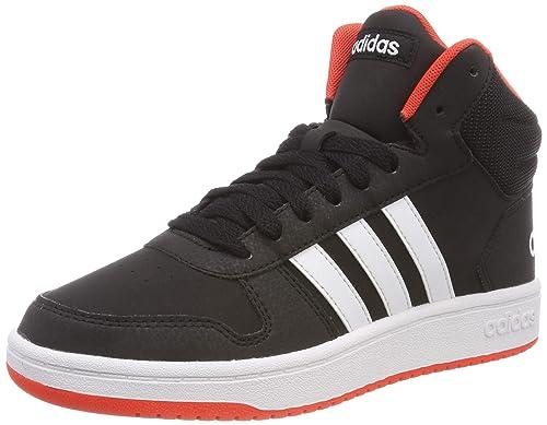 meet 14106 4df6e adidas Hoops Mid 2.0 K, Zapatillas de Gimnasia Unisex Niños Amazon.es  Zapatos y complementos