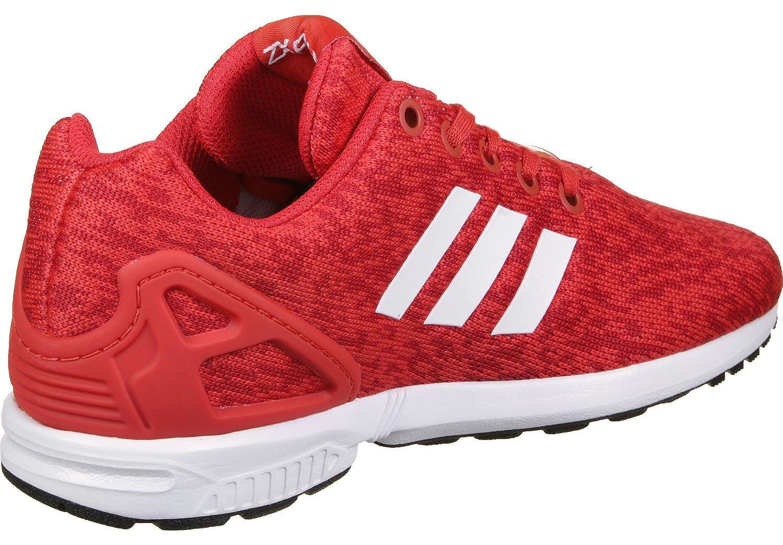 1f4c0089e adidas originals Unisex-Kinder Shoes   Sneakers ZX Flux J red 38   Amazon.co.uk  Shoes   Bags