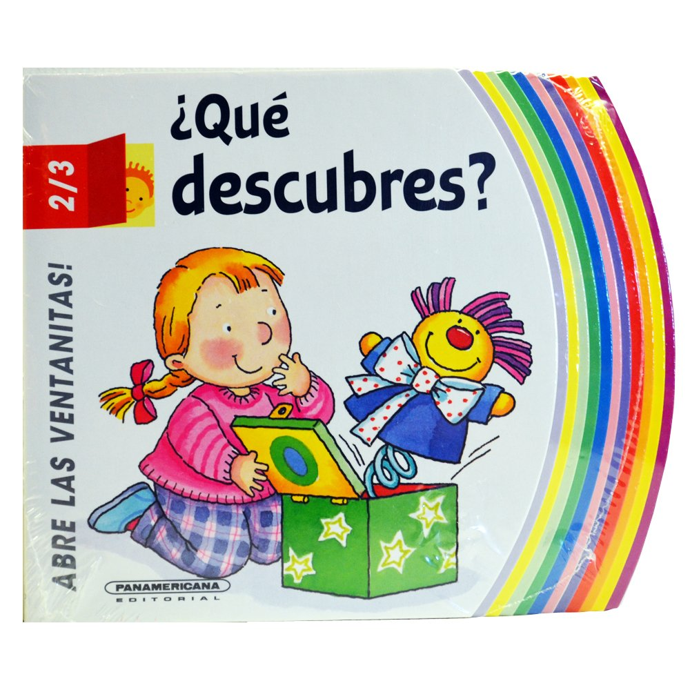 ¿Qué Descubres? (Spanish) Board book – 2013