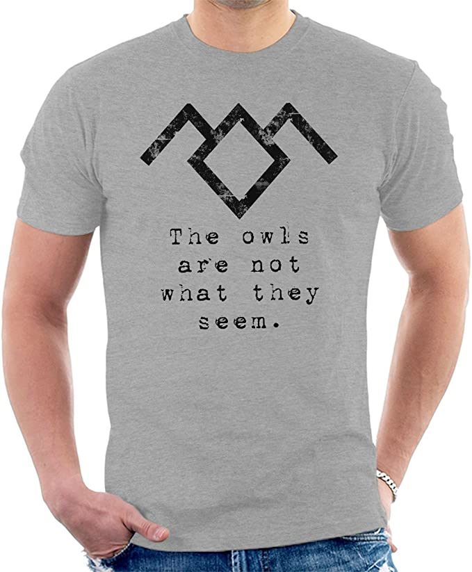 Cloud City 7 Owl Symbol Twin Peaks Mens T-Shirt